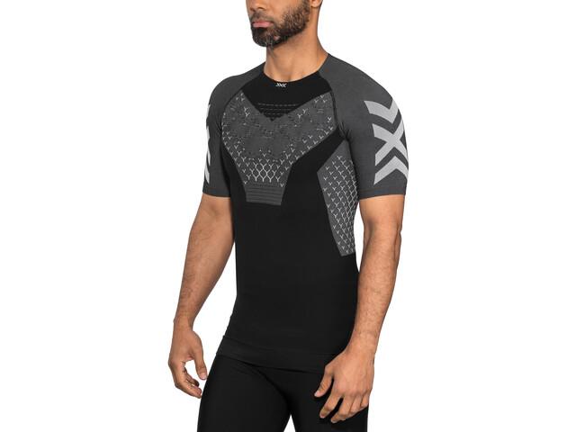 X-Bionic Twyce G2 Camiseta running manga corta Hombre, black melange